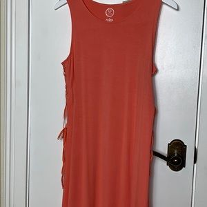 NWT Maurice's 24/7 peach dress size Sm